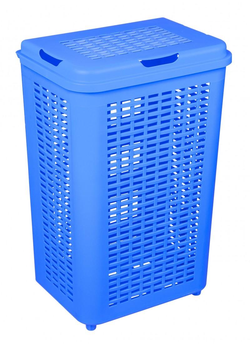 Cos rufe 50 litri albastru