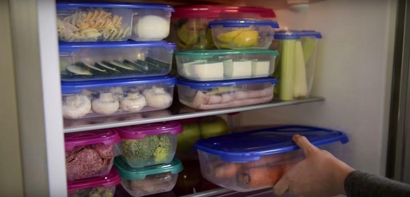 Cutii alimente plastic FRIGO