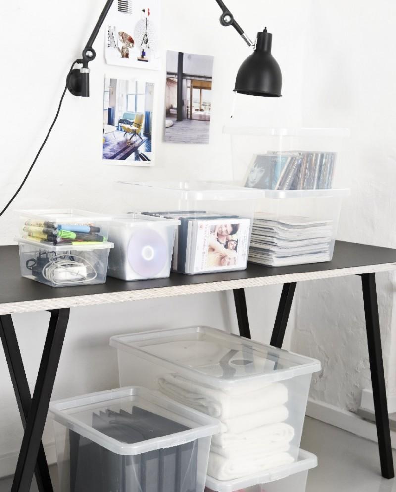 Cutii depozitare Basic Box