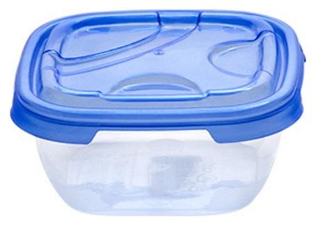 Cutie alimente dreptunghiulara FRIGO 300 ml albastra