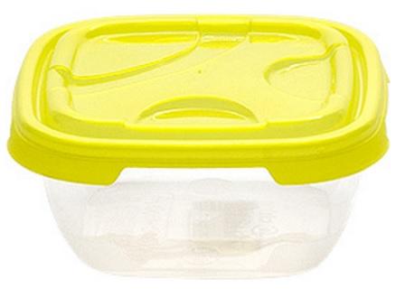 Cutie alimente dreptunghiulara FRIGO 300 ml galbena