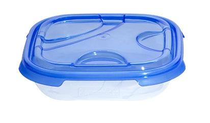 Cutie alimente patrata FRIGO 500 ml albastra