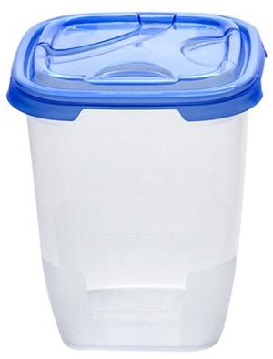 Cutie alimente patrata FRIGO 800 ml albastra