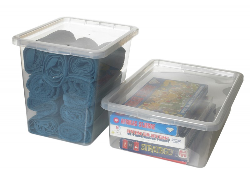 Cutii depozitare Basic box de 48 l si 80 l