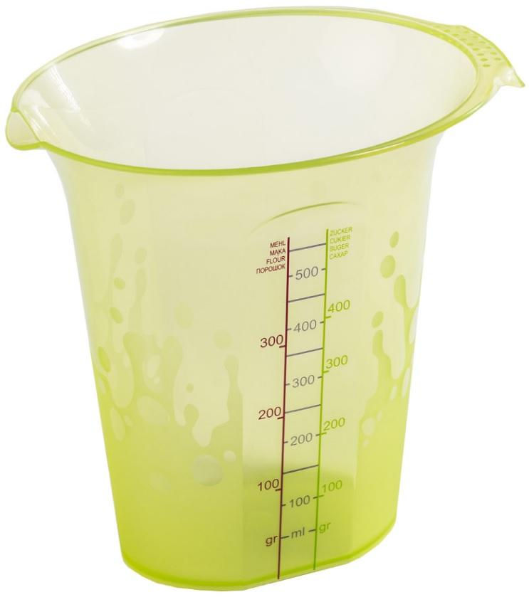 Cana gradata 500 ml  verde