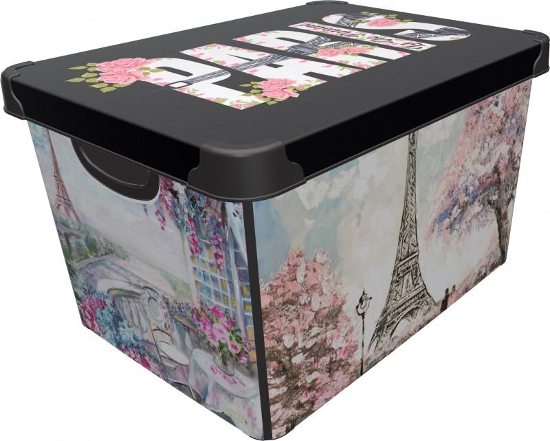 CUTIE DEPO PARIS 20 L, dimensiuni 39x29x23.5 cm