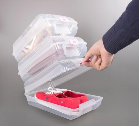 Cutie depozitare pantofi dama 32x19x10.5 cm - acces usor