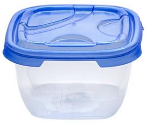 Poza Cutie alimente dreptunghiulara FRIGO 400 ml albastra