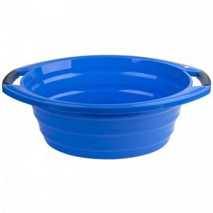 Poza Lighean oval cu manere 15 litri albastru
