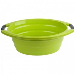 Poza Lighean oval cu manere 15 litri verde