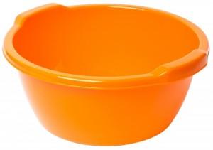 Poza Lighean rotund cu manere orange