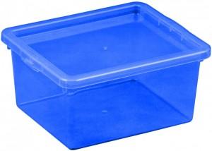 poza Cutie depozitare cu capac 2 litri albastru inchis