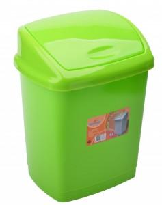 Poza Cos gunoi 4 litri 24x18x18 cm verde