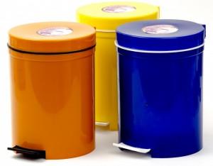 Poza Cos gunoi cu pedala 5 litri, trei variante