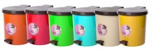 Poza Cosuri de gunoi cu pedala si galeata interioara 10 litri