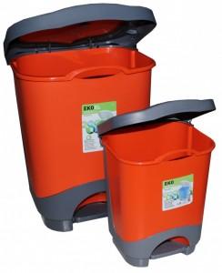 Poza Cosurile de gunoi de 24 si 8 litri cu galeata