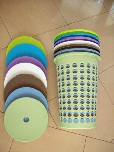 Poza Cosuri rufe 60 litri diferite culori
