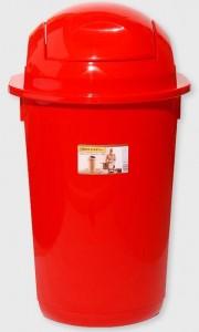 Poza Cos gunoi rotund cu capac batant 40 litri
