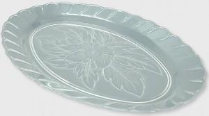poza Platou oval tip cristal 34x23 cm