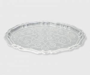 Poza Tava ovala tip cristal 31x22.5 cm