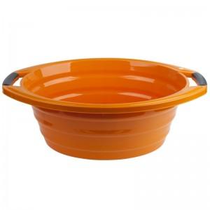 Poza Lighean oval cu manere 15 litri orange