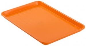 Poza Tava dreptunghulara 34x24 cm portocalie