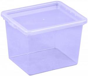 Poza Cutie depozitare 3 litri, dimensiuni 205x170x142.7 mm mov