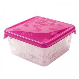 Poza Set 3 cutii alimente Rukkola 0.45+0.75+1 litru rosu