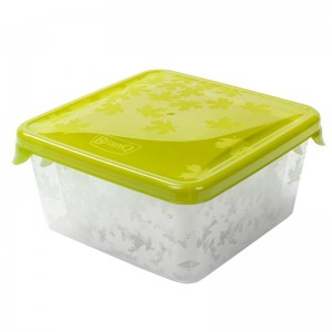 Poza Set 3 cutii alimente Rukkola 0.45+0.75+1 litru verde