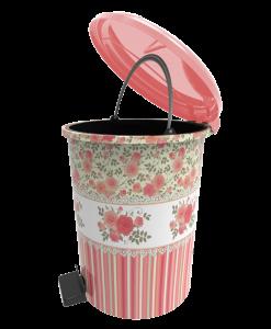 Poza Set 3 cosuri cu pedala decorate - design rosu