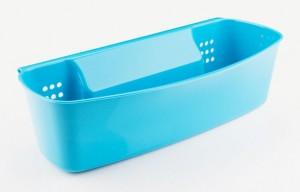 Poza Suport accesorii pentru baie sau bucatarie, dimensiuni: 33x17x9 cm albastru
