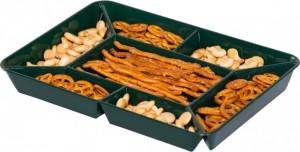 poza Tava compartimentata snacks 28.5x20.5x3.2 cm