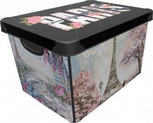 Poza CUTIE DEPO PARIS 20 L, dimensiuni 39x29x23.5 cm