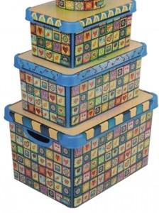 Poza Set cutii decorate primavara
