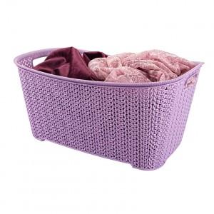 poza Cos depozitare 6 L  30x19.5x14.2 cm impletit knit
