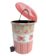 Set 3 cosuri cu pedala decorate - design rosu